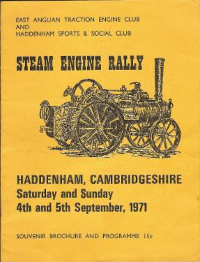 Haddenham Steam Rally - Our History
